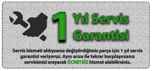 Miele Servis 1 yıl servis garantisi