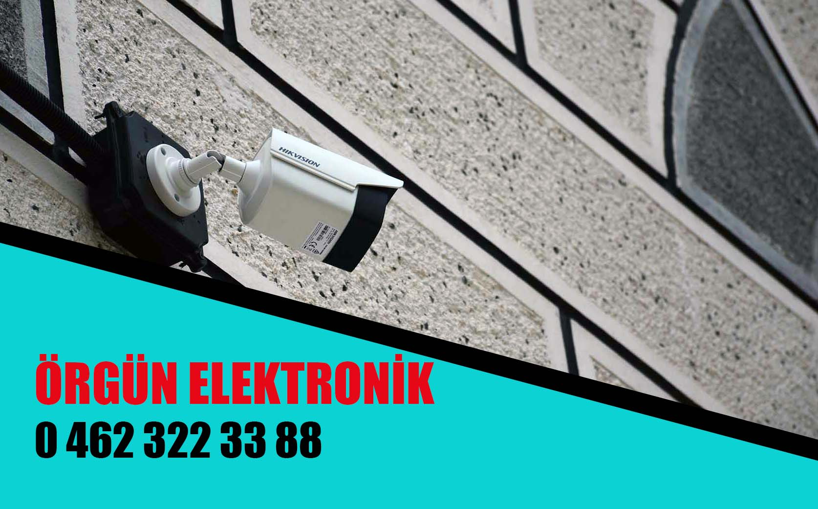 Trabzon Güvenlik Kamera Sistemleri Servisi örgün elektronik